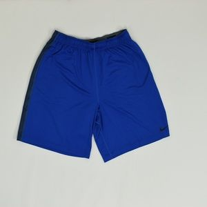 Nike Dri-Fit Regular XL Blue   Short Polyester Sol